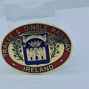 Tralee & Dingle Railway Ireland Enamel Pin Badge
