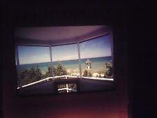 Photo slide Lighthouse Michigan Grand Traverse beacon Lamp Room Lens aero beach