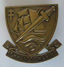 Insigne de beret Commandos marine Drago