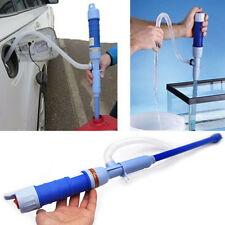 Auto Electric Battery Syphon Powered Pump Diesel Fuel Water Gas Siphon Pump Hose
