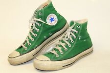 Vintage Converse All Star USA Made Mens 9 VTG Canvas High Tops Sneakers Shoes if