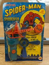 AHI Official Spider-Man SpiderCopter Toy - 1979 - Sealed - Unpunched - Vintage