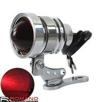 Motorcycle Bike Taillight 12V LED Tail Light Lamp Universal For Chopper Bobber