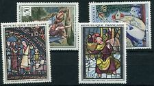1963 - FRANCE - FRENCH ART PAINTINGS SET OF FOUR, UMM
