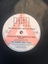 "The Robert Cray Band Change Of Heart, Change Of Mind (SOFT) UK 7"" Promo"