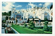 Postcard Disneyland It's A Small World After All in Fantasyland. P