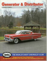 1958 Impala - Generator & Distributor Magazine Volume 49, #4 April 2010