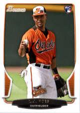 2013 Bowman #128 L.J. Hoes Orioles NM-MT (RC - Rookie Card)
