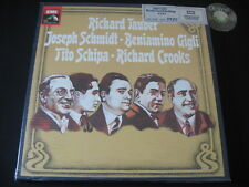SEALED 4 LP BOX Tauber Gigli Schmidt Schipa Crooks 1978 Holland