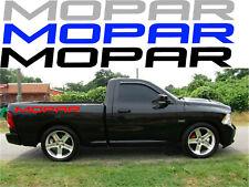 2 Dodge Mopar Truck Bed Side Stickers Decal HEMI Mopar multiple colors available