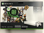 Microsoft Xbox One X 1TB  White Special Edition 3 Month Game Pass   Gold