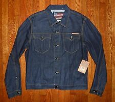 $246 TRUE RELIGION RED LINE SELVEDGE RAW WESTERN PHANTOM EDISON DENIM JACKET 3XL