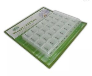 Weekly Pill Box 7 Day Pill Box Daily Tablet/Pill Box/Organiser/Dispenser/Holder