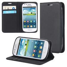 Funda-s Carcasa-s para Samsung Galaxy S3 mini i8190 i8200 Libro Wallet Case-s bo