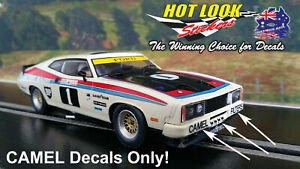 SCALEXTRIC ALLAN MOFFAT 1:32 FORD FALCON XC COUPE BATHURST SLOT CAR Camel Decals