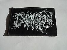 DEMIGOD EMBROIDERED LOGO DEATH METAL PATCH