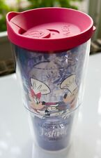 Disney Epcot 2020 Food&Wine Festival Mickey/Minnie Mouse 24 Oz Tervis Tumbler N