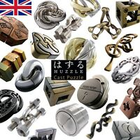 Huzzle Cast Puzzles by Hanayama -Every Difficulty Every Design! UK Stock UK Shop