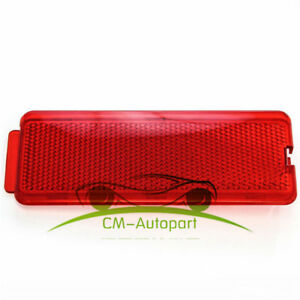 Door Reflector Interior Red Fits Ford SuperDuty 1999-2007 F250 F350 F450 F550