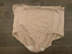 Bali Lace Beige Panties 2 Pack Size 3XL