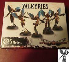 Space Crusade PIC301102 Valkyries (5) Miniatures Female Marine Assault Crusaders