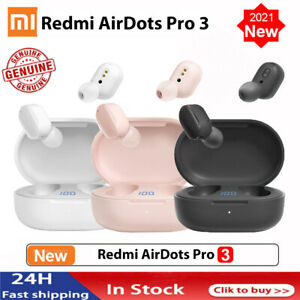 NEW Redmi Airdots Pro 3 Earbuds Wireless Earphone Bluetooth 5.0 Gaming Headset
