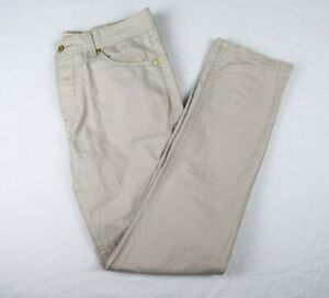 Men's Diesel Made in Italy Tan Beige Chinos Trousers Chino Pant - Size 32R