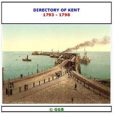 DIRECTORY OF KENT 1793-1798 CD ROM