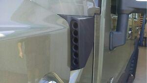 Fierce Forge-Tec Hummer H2 & SUT Billet Black Side Air Vent Set - Pair
