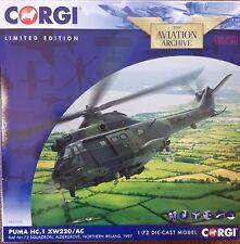 Corgi Aviation Puma HC.1 XW220/AC RAF No.72 Sqn Aldergrove N.Ireland1997 AA27005