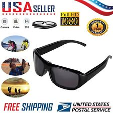 Mini HD Spy Camera Glasses 1080P Hidden Eyeglass Eyewear DV DVR USA