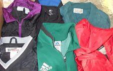 Adidas, L.L. Bean, Bike, Starter etc. LOT 6 Men Small Windbreakers (LOT 2313)