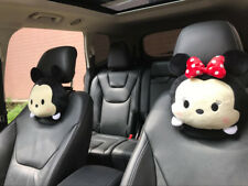 2pcs Disney mickey minnie  anime bone pillow cushion car pillows neck comfy cute