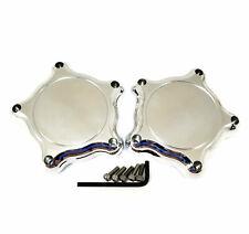 2x American Racing Torq Thrust Plain Logo Wheel Center Hub Caps