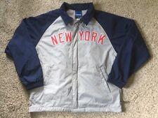 NEW YORK RED BULL FC Adidas Zip Jacket Football Soccer MLS Mens Sz L NY EUC