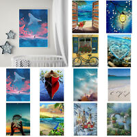 5D DIY Full Drill Diamond Painting Cross Stitch Craft Kits Home Decor Scenery W