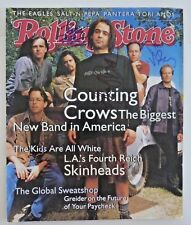 Counting Crows Adam +3 Signed Autograph Magazine Cover Psa Bas Guaranteed F8