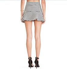 J.O.A. STRIPED EMBO SKIRT  Size S