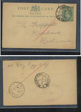 Natal  postal  envelope   1903  local use   KL0610
