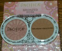 Pacifica Bronzed Rose Blush & Bronzer in Coconut Infused 0.28 OZ / 8 G NIB