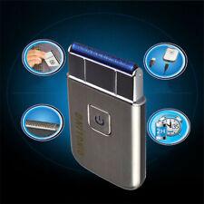Men's Mini Electric Shaver Trimmer Razor USB Rechargeable Travel Shaving Machine