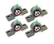 High Quality 34 Ucp204 12 Pillow Block Bearing With Grease Fitting Qty 4