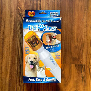 Dog Cat Pedi Paws The Incredible Pet Nail Cordless Trimmer extra file 2008