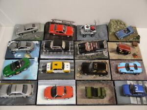 James Bond Collection 1:43 Modellauto aussuchen aus folgenden Nummern 1 - 130