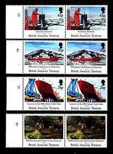 BRITISH ANTARCTIC - ANTARTICO BRITANNICO - 1991 - 200° nascita M. Faraday 4 valo