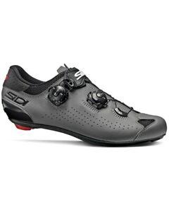 Sidi Genius 10 Road Shoes, Black/Grey