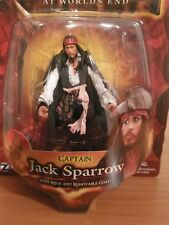 Pirates of the Caribbean Dead At World's End Captain Jack Sparrow figure NIB