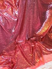 """5 MTR Sparkly Sequin Fabric bridal wedding costume strech backdrop Tulle net 58"""""""
