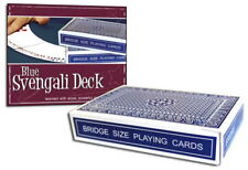Magic Blue Svengali Deck Bridge Size