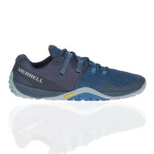 Merrell Herren Trail Glove 6 Turnschuhe Laufschuhe Sneaker Marineblau